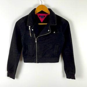 ✨3/$25✨Tommy Hilfiger Girl's Cotton Moto Jacket